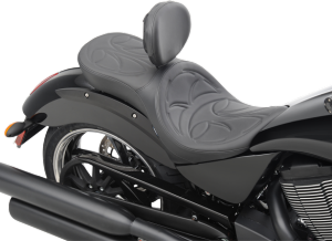 Shown with optional large backrest.