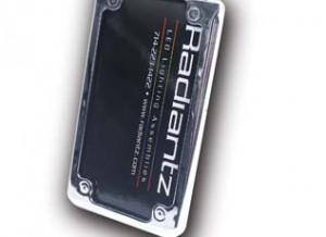 License Plate Frame, LED 3 inch, Black