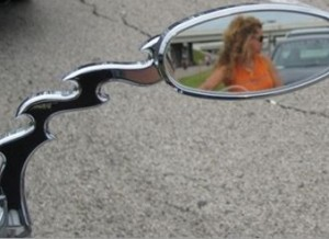 Mirror Arm, Dragon Tail - Chrome