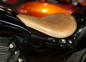 Frame matching Gloss Black finish. Easy to Install! Comes with necessary hardware. Metal pan seat included. Or choose a padded leather seat in black or brown. Fits Vegas or High-Ball models.
