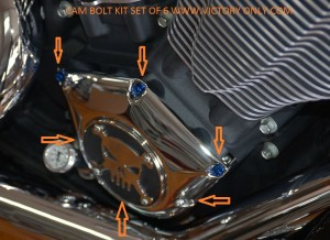 CAM BLUE BOLT KIT VICTORY MOTORCYCLE