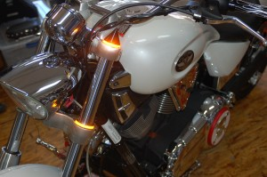 LED FORK CAP LIGHT VICTORY MOTORCYCLE CUSTOM NEW 031