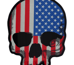 USA SKULL PATCH
