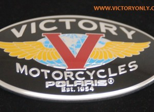 New Design Logo Tank Badge Cross County Roads