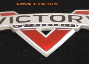 7180168 7180169 victory motorcycle tank badge