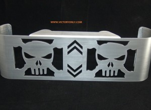 Oil Cooler Cover SKULL RAW Up to 2007
