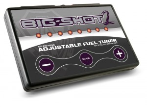 an option to Dynojet Programers the Big Shot Fuel Tuner Big Shot 2 Adjustable fuel injection programer now gives the user the ability to add or subtract fuel from the fuel injection Victory Motorcycles