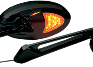 CUSTOM BLACK LED ACCENT MIRRORS