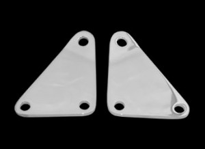 """Highway Brackets are all chrome (Sold as a pair). Fits: Victory XC. Our Highway Brackets are designed to fit Kuryakyn's, Part # 8061, Short Magnum Peg Mount w/ 1/2""""-13 Thread. When mounting floorboards we recommend Kuryakyn's Short Magnum Peg Mount to install on our Highway Brackets."""
