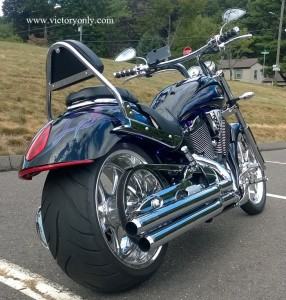 jackpot sissybar led custom dynamics victory motorcycle mbw turn signals