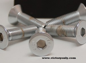 pulley bolts tapered victory motorcycle