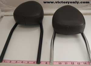sissybar backrest victory motorcycle light mount custom 006