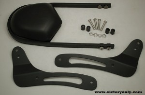 sissybar mount fender liner victory only motorcycle 002
