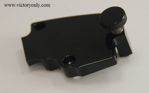 cruise control fits most 08 and up Victory Motorcycle switch housings with stock, comfort or billet grips. Will NOT hinder the riders ability to regulate the throttle even in a panic situation. Easy Installation takes only 5 min! Simply remove the 2 bolts on the bottom of your right switch /cable housing and replace it with our billet aluminum piece. Cut down the friction rubbing block to fit your grip and tighten up the thumb screw.