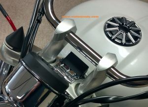 victory only motorcycle custom parts accessories LIGHT VISOR INDICATOR BLOCK OFF LIGHTS