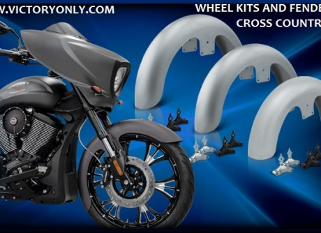 Custom Victory Motorcycle Products We know you want your Victory motorcycle to look it's best. Thats why for over 16 years, we have been developing some of the hottest custom aftermarket parts and accessories for Victory bikes on the market. From our custom forged wheels to matching brake rotors and belt pulleys, these parts are sure to send your bike over the top - See more at: http://www.rccomponents.com/victory-products/victory-products.htm#sthash.TOUEBx86.dpuf