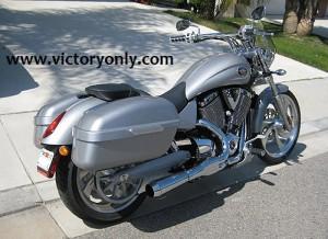 HARDBAG CLASSIC SADDLEBAGS VICTORY MOTORCYCLE GLOSS/ SATIN / UNPAINTED